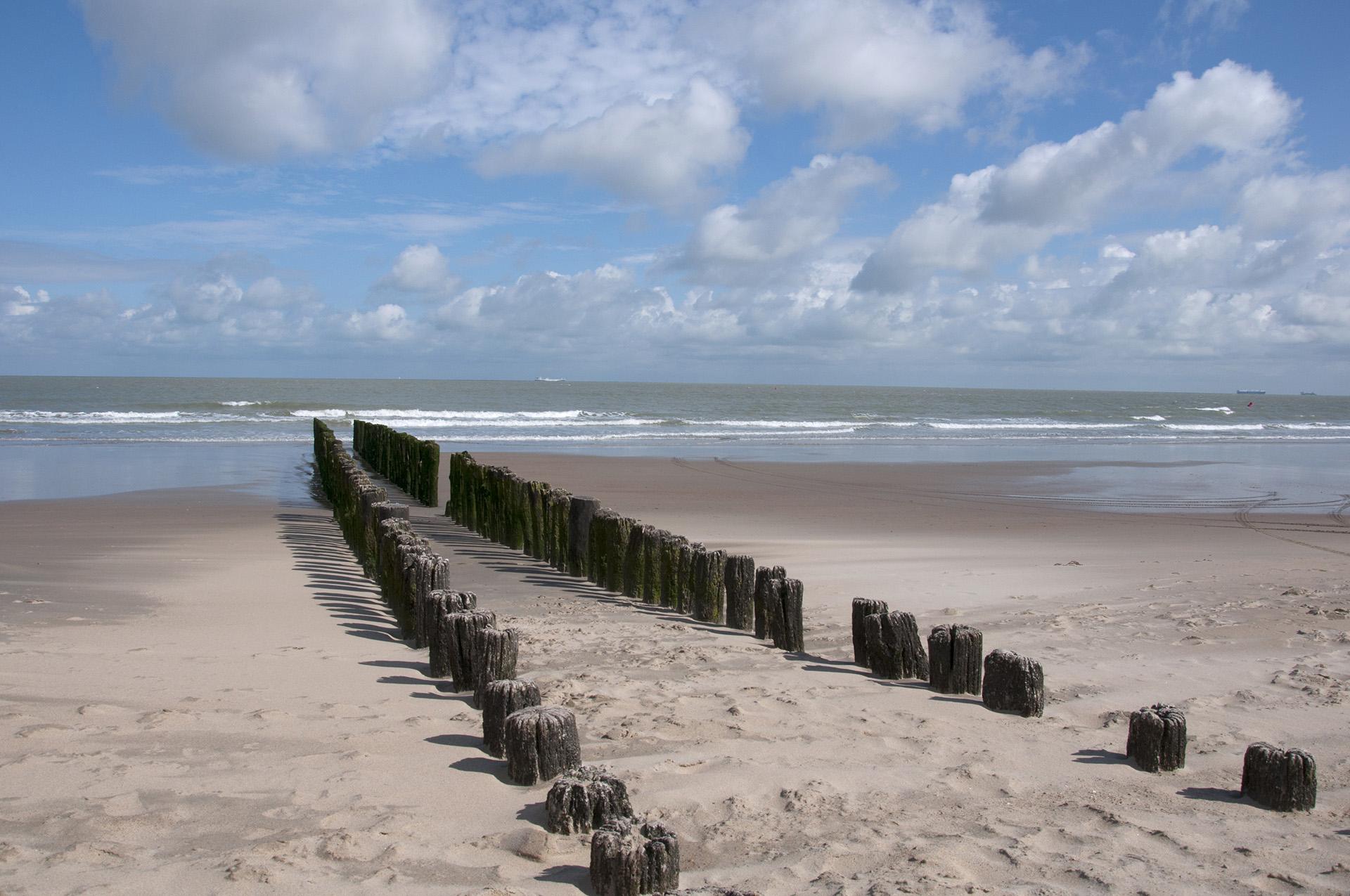 Strandwandeling vanuit B&B Aquavit in Knokke